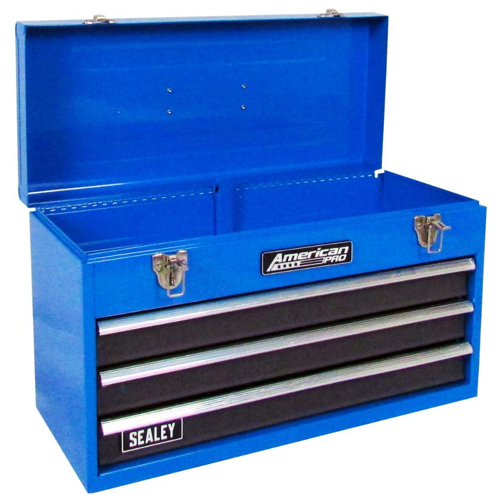 Sealey Ap9243bb Tool Chest 3 Drawer Portable With Ball